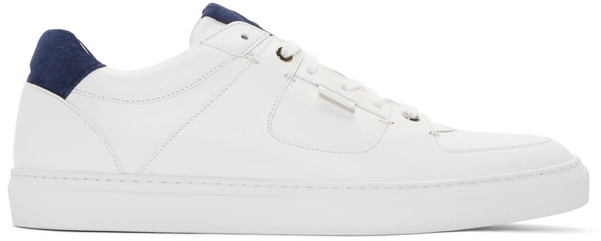 Brioni Baskets Blanches Hudson