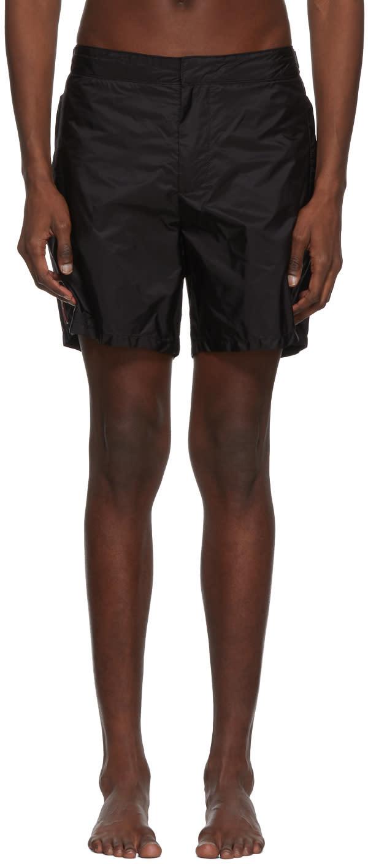 e1f213bfac7ca Prada Black Swim Shorts