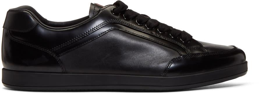 Prada Black Slim Sneakers