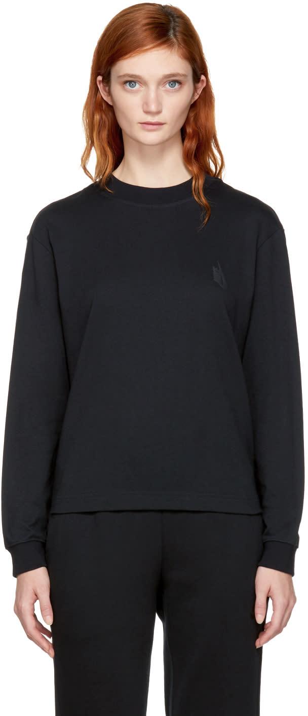 Image of Nikelab Black Essentials Mock Neck Sweatshirt