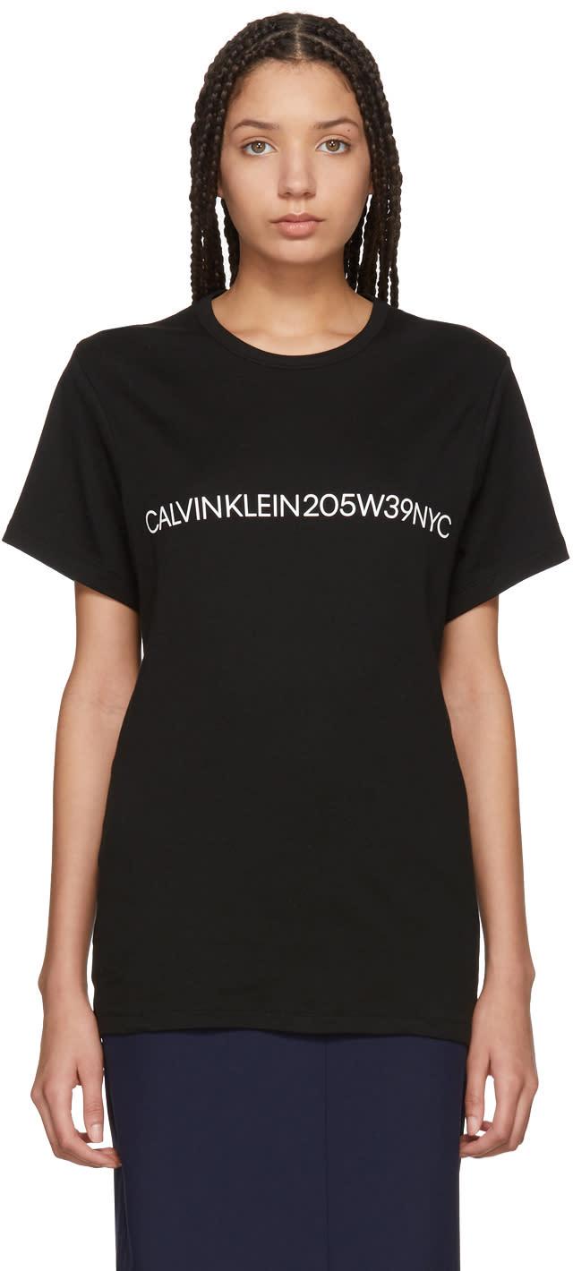 242b86a3907a9 Calvin Klein 205w39nyc Black Logo T shirt