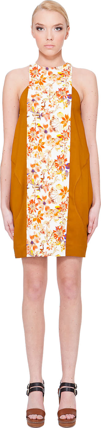 Image of Suno Toffee Garden Dress