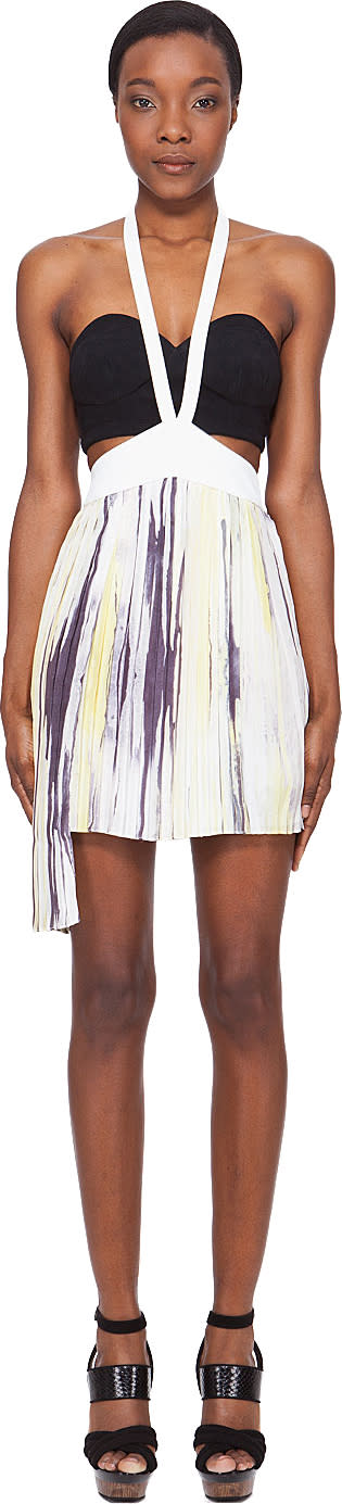 Mandy Coon Eyes Wide Open Halter Skirt