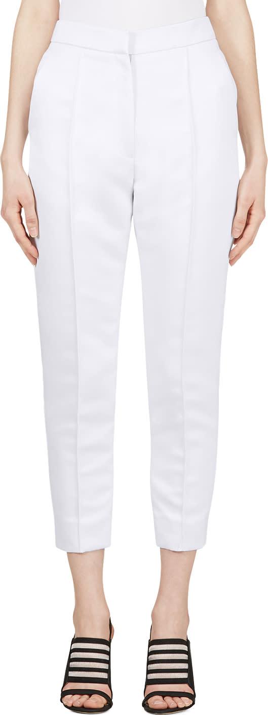 Roksanda Pale Lavender Cropped Hedworth Trousers