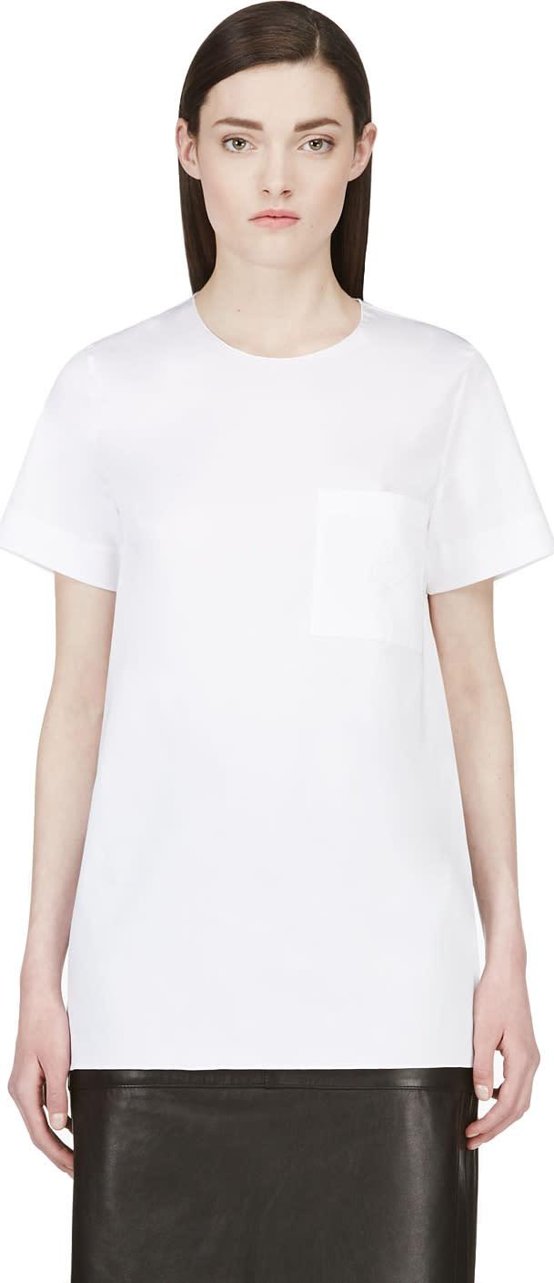 Roksanda White Silk Panel Blouse