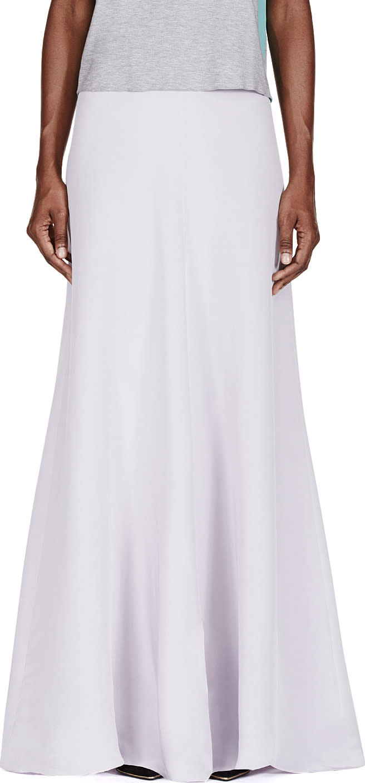 Roksanda Lavender Silk Trinity Skirt