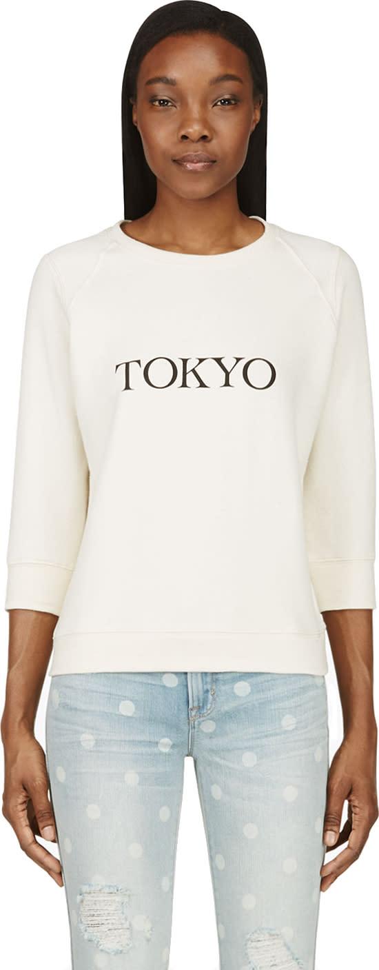 Roseanna Ssense Exclusive - Sand Pullover Tokyo Sweatshirt