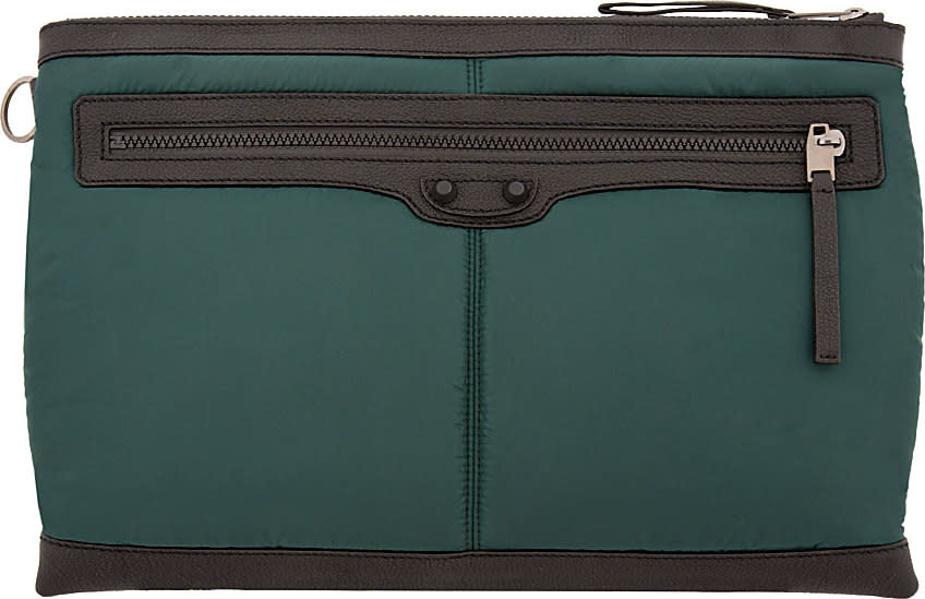 Balenciaga Green Padded Tablet Case