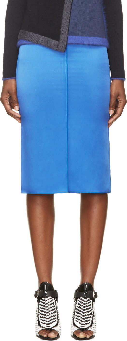 Altuzarra Cobalt Faulkner Skirt