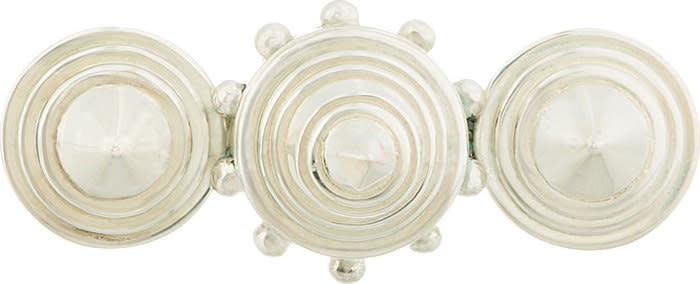 Ktz Silver Triple Cone Ring