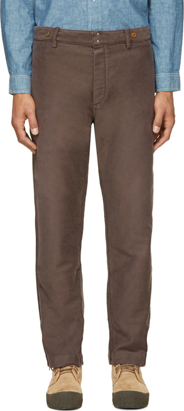 Visvim Deep Taupe Pastoral Pants