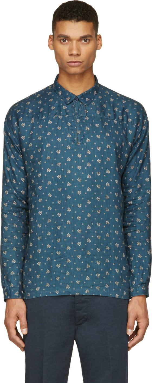 Visvim Indigo Kerchief Tunic Shirt