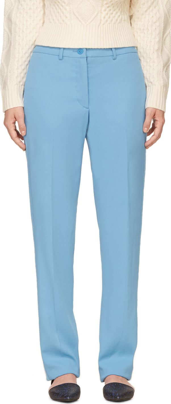 Image of Richard Nicoll Blue Valentine Trousers