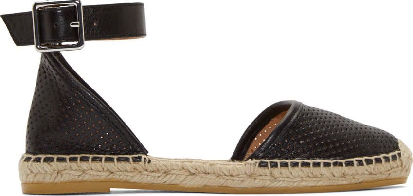 Marc By Marc Jacobs Black Summer Breeze Espadrilles