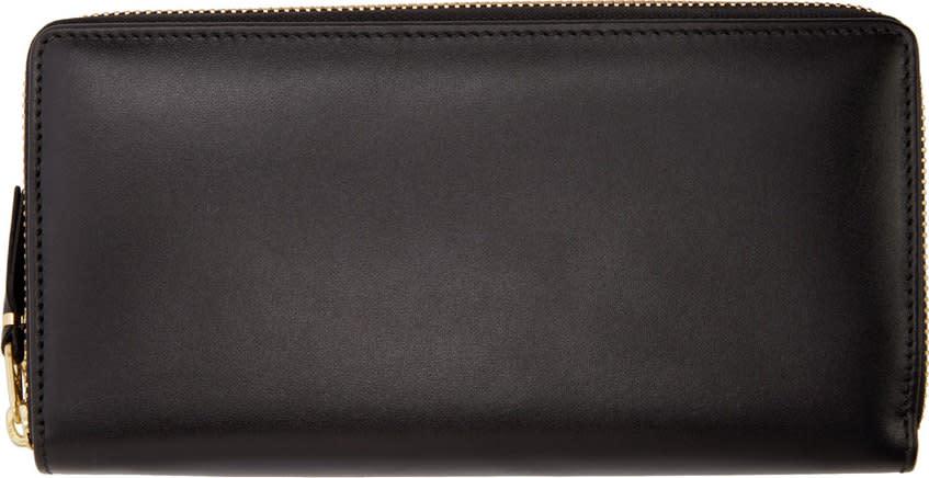 Comme Des Garçons Wallets Black Large Classic Wallet