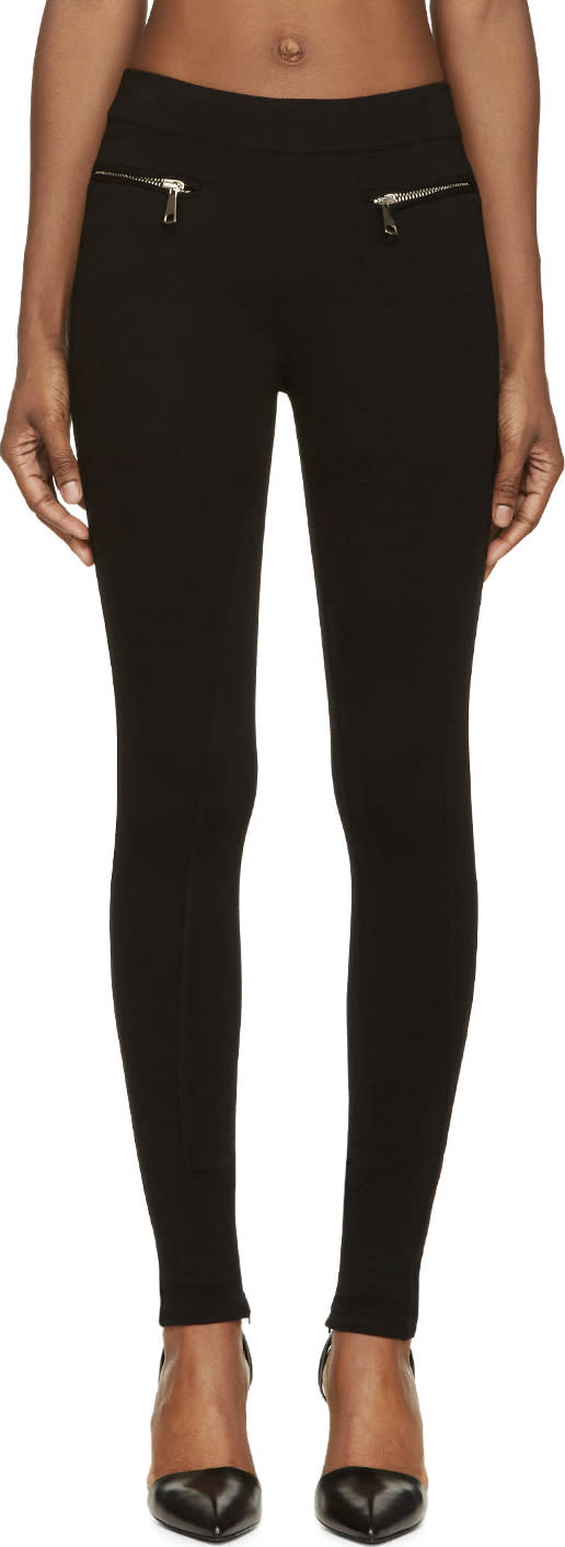 Givenchy Black Ponte Leggings