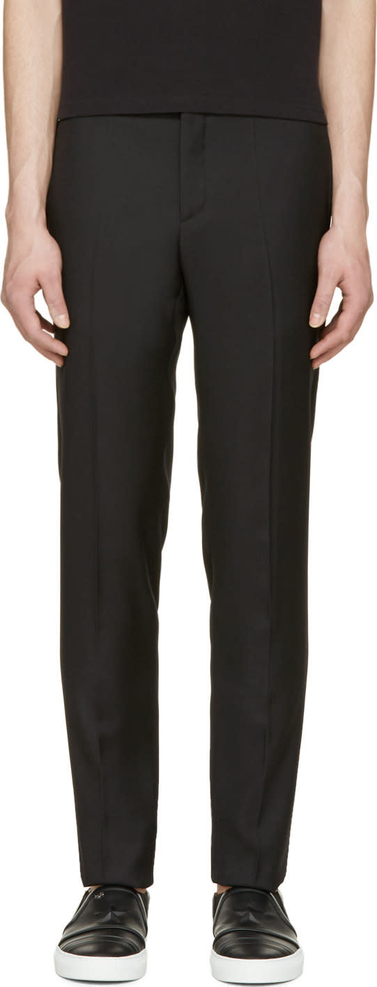 Givenchy Black Slim Classic Trousers