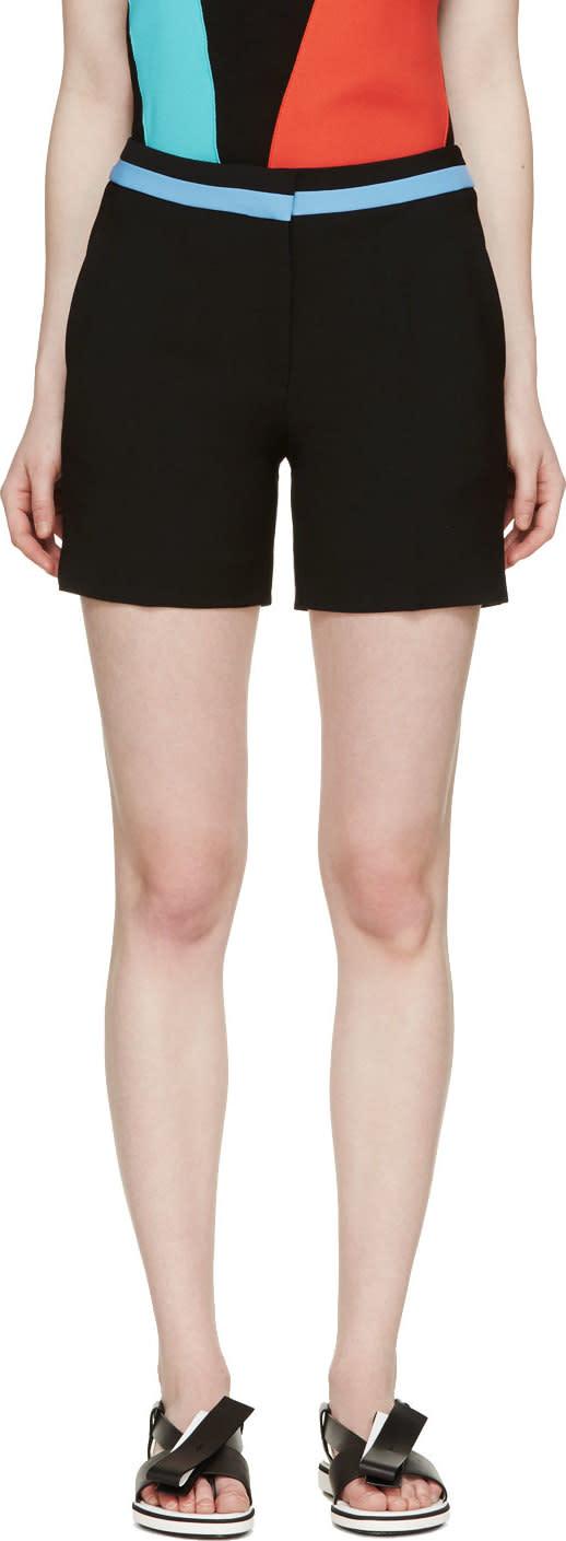Roksanda Black Crepe Marsden Shorts