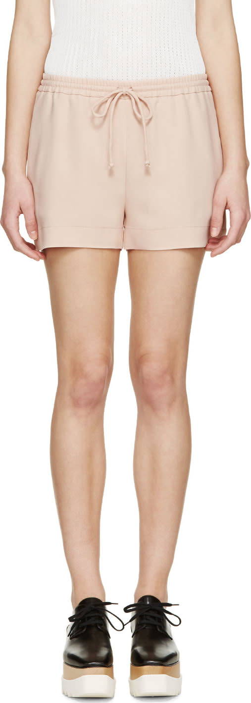 Stella Mccartney Rose Woven Tap Shorts