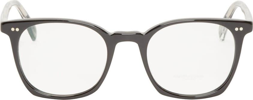 Oliver Peoples Black L.a. Coen Optical Glasses