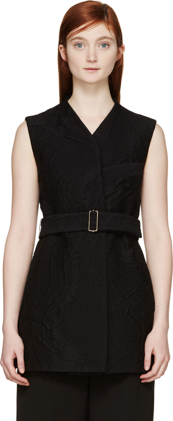 Image of Maiyet Black Crossover Vest