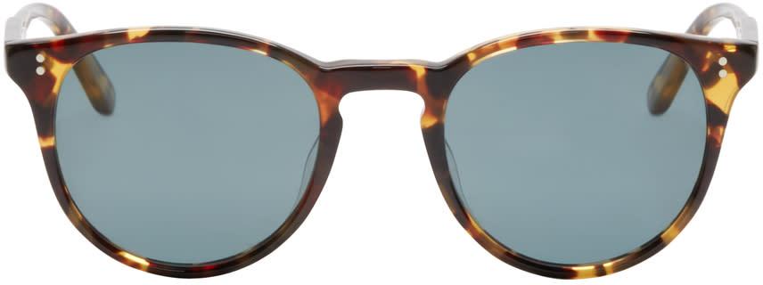 Garrett Leight Dark Brown Tortoiseshell Milwood Sunglasses