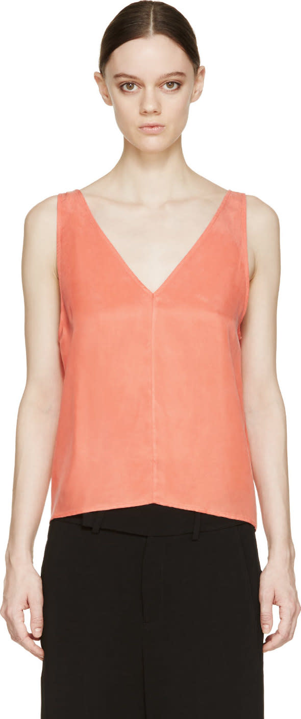 Won Hundred Coral Cici Tank Top
