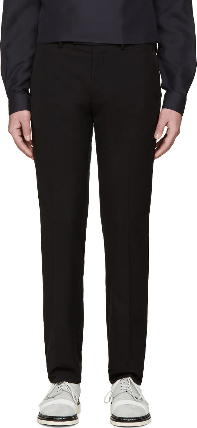 Image of Oamc Black Technical Local Trousers