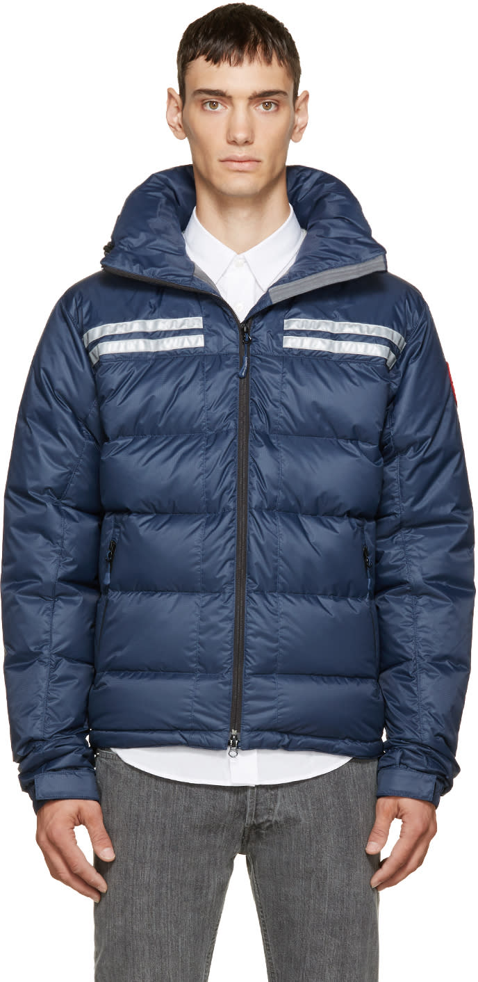 Canada Goose Blue Down Summit Jacket
