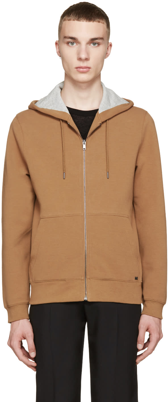 Marc By Marc Jacobs Camel Zip-up Hoodie