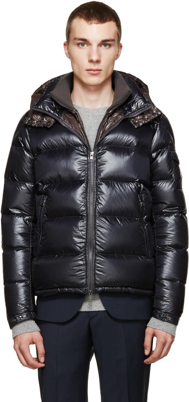 Moncler Grey Down Zin Jacket