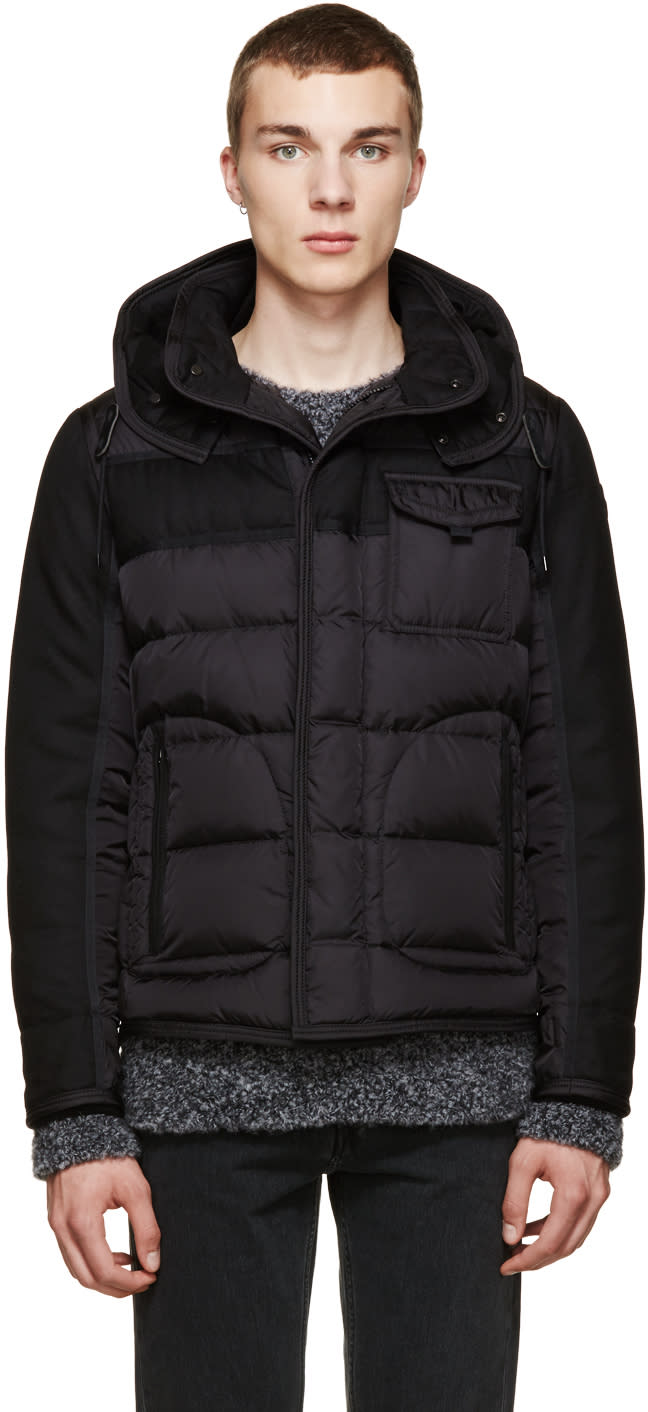372a22f9c Moncler Black Quilted Ryan Jacket