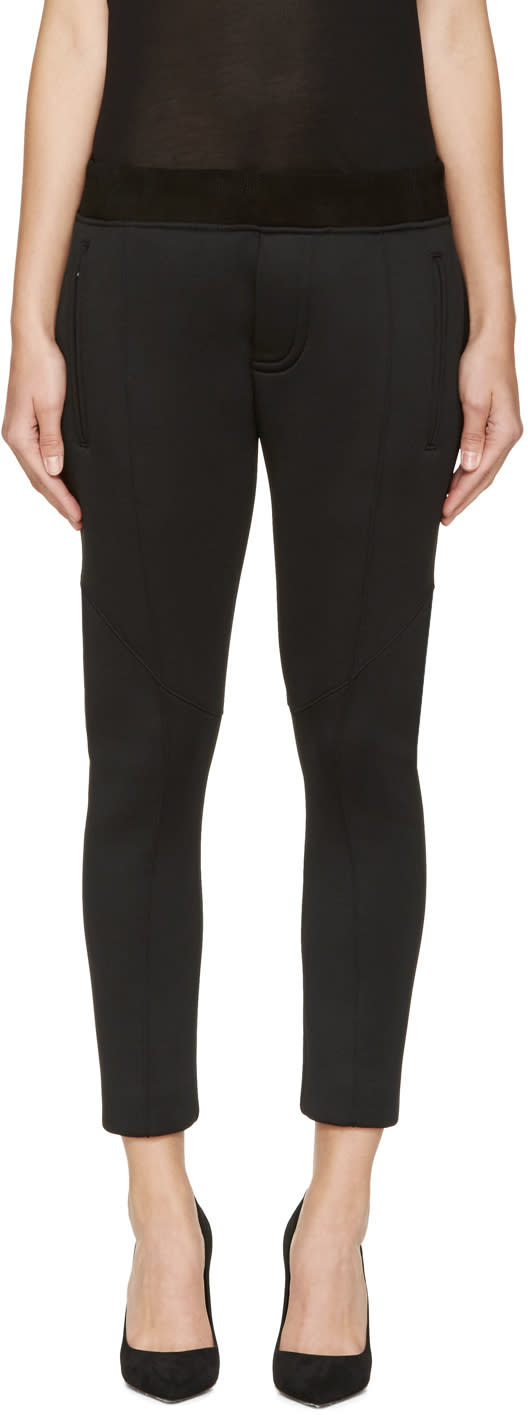 Dsquared2 Black Jersey Anniversary Lounge Pants