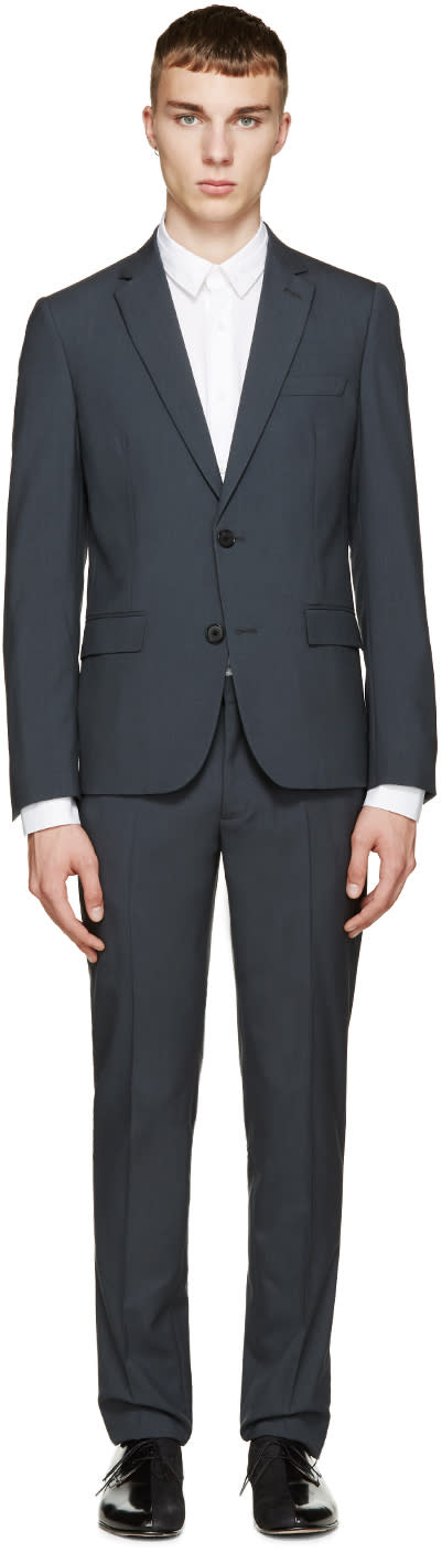 Maison Margiela Grey Classic Two-piece Suit