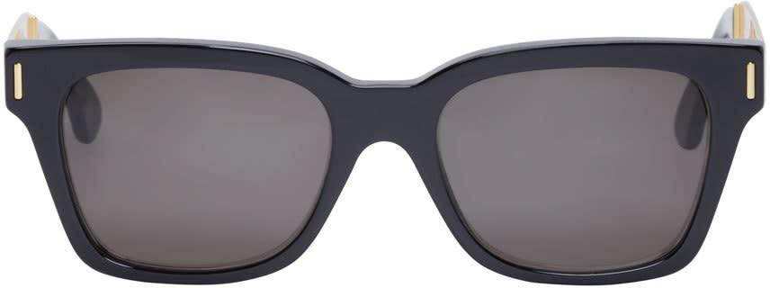 Super Black and Gold America Francis Sunglasses