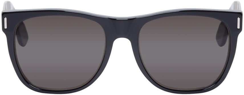 Super Black and Silver Classic Francis Sunglasses