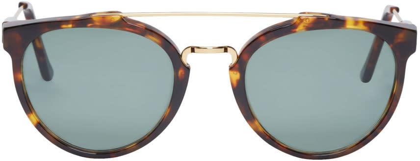 Super Brown and Gold Turtoiseshell Giaguaro Sunglasses