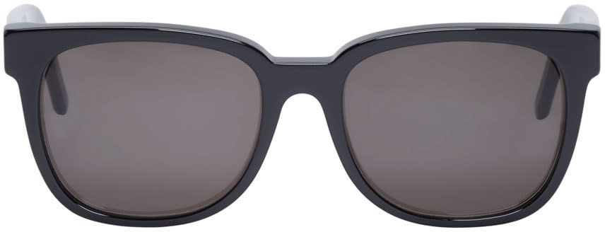 Super Black Acetate People Sunglasses