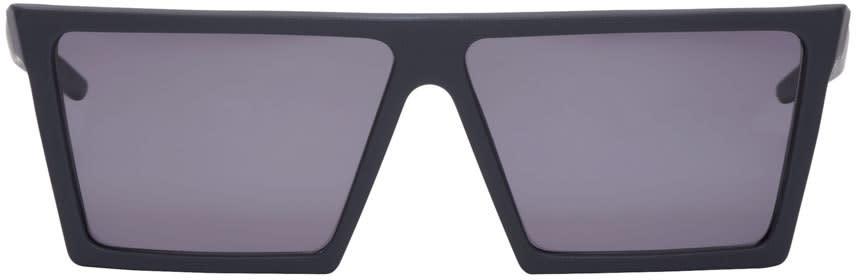 Super Black Matte W Sunglasses