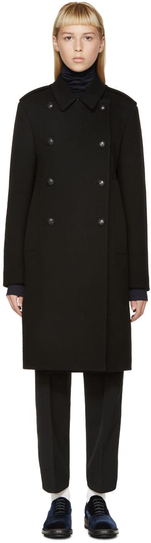 Jil Sander Black Wool Valencia Coat