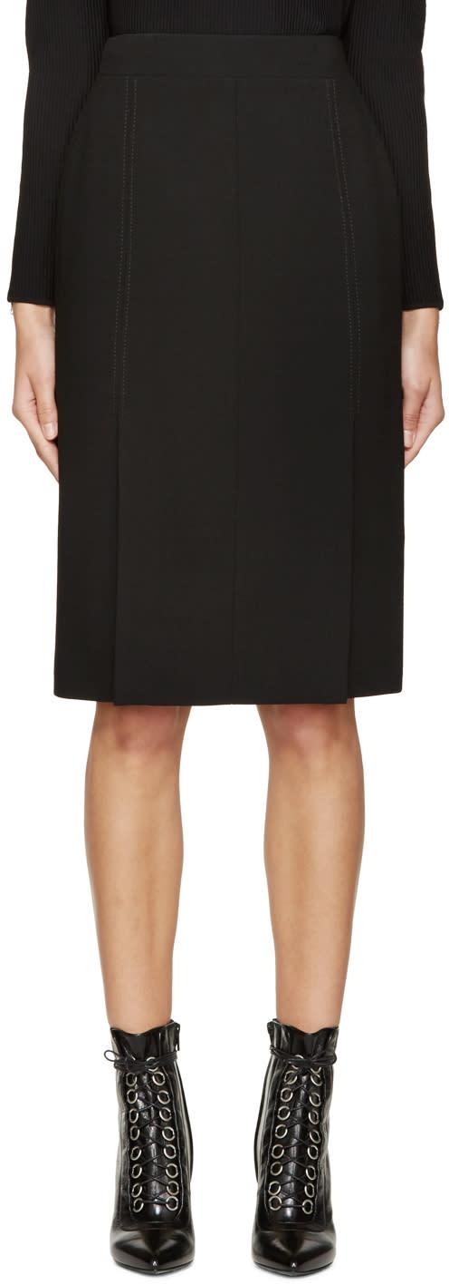 Alexander Mcqueen Black Mid-length Pencil Skirt