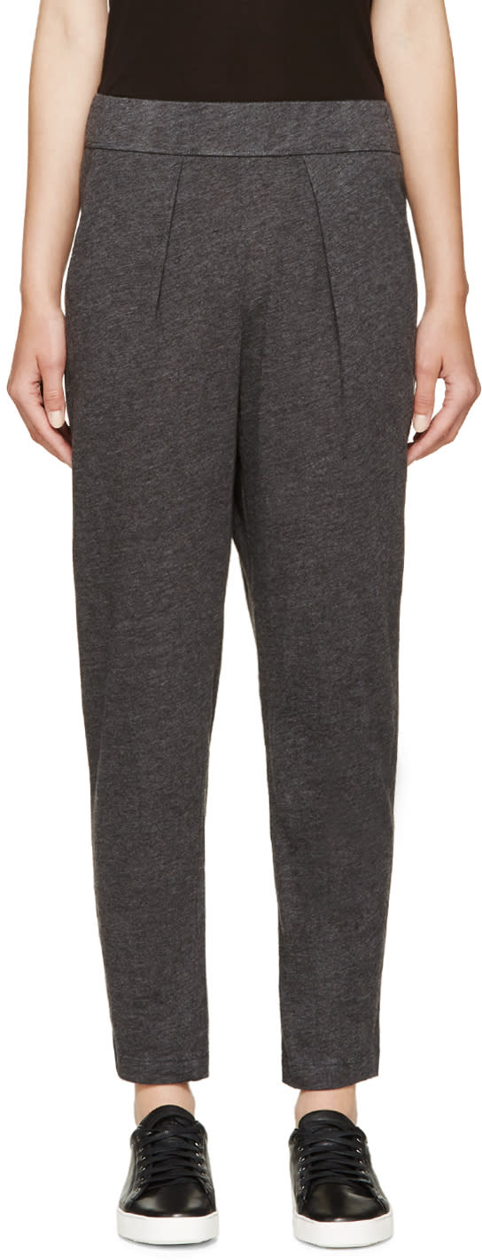 Raquel Allegra Grey Jersey Lounge Pants