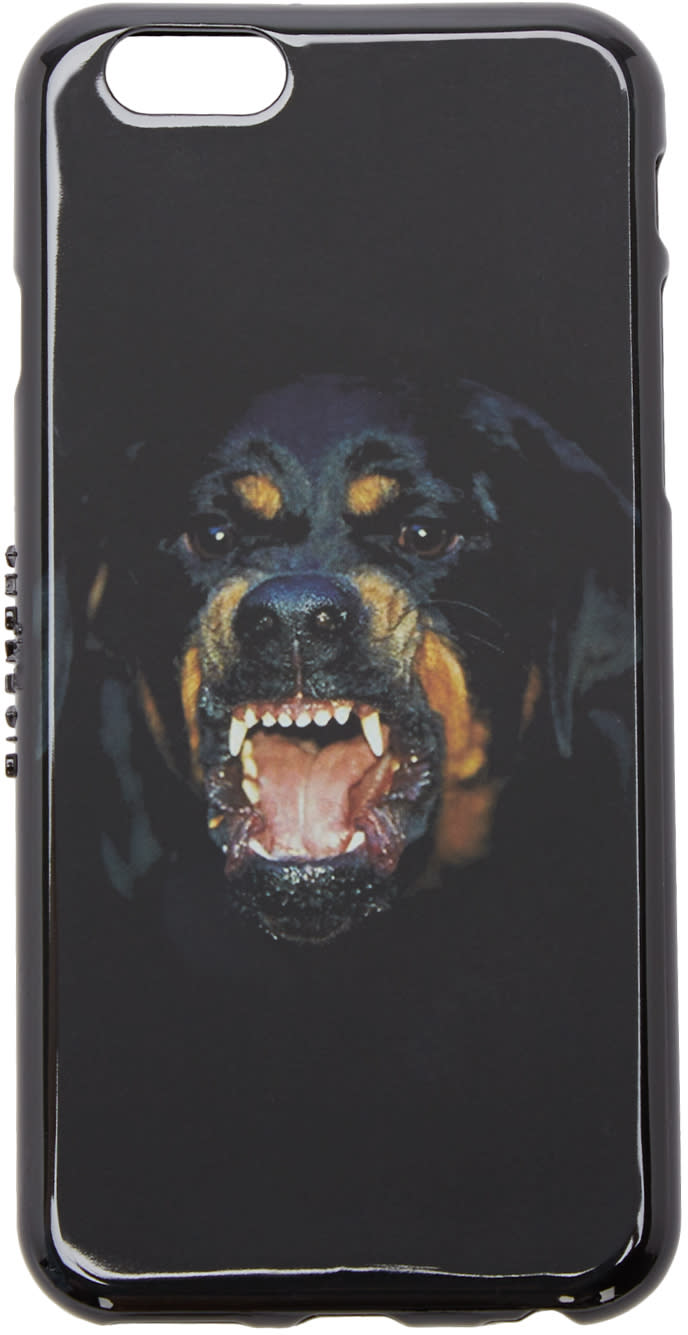 Givenchy Black Rottweiler Iphone 6 Case