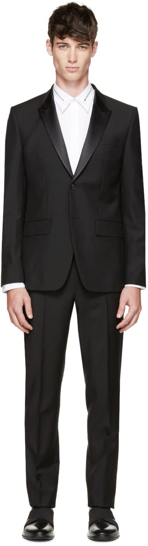 Givenchy Black Mohair Tuxedo