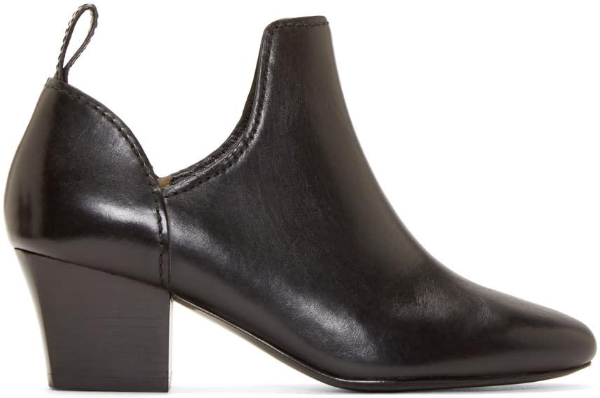 3.1 Phillip Lim Black Taylor Ankle Boots