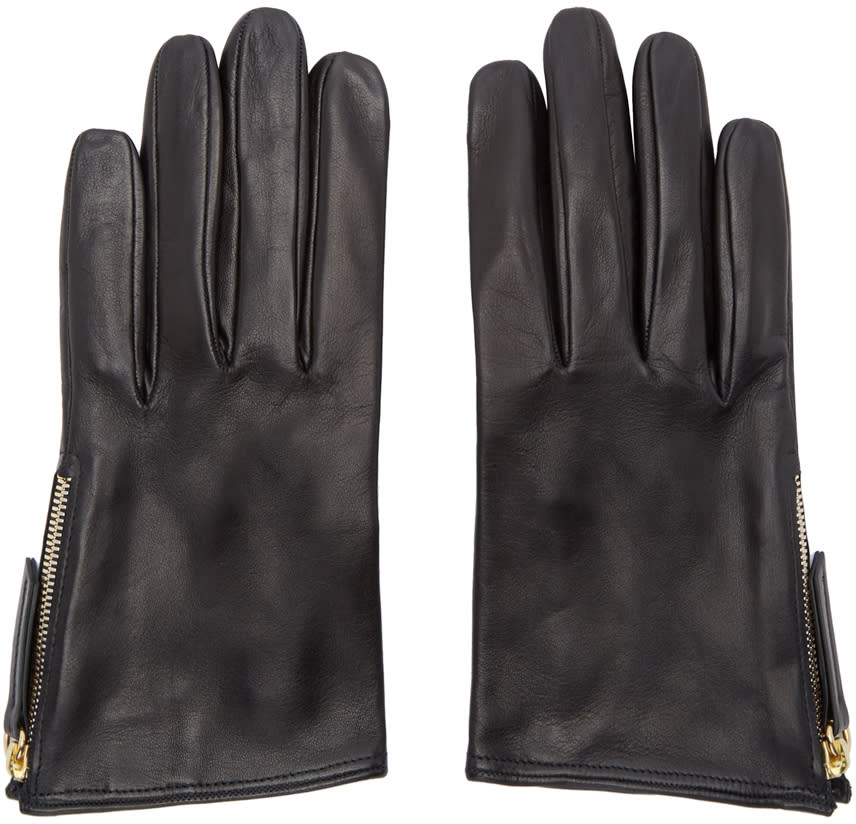 Want Les Essentiels Black Madeleine Short Gloves