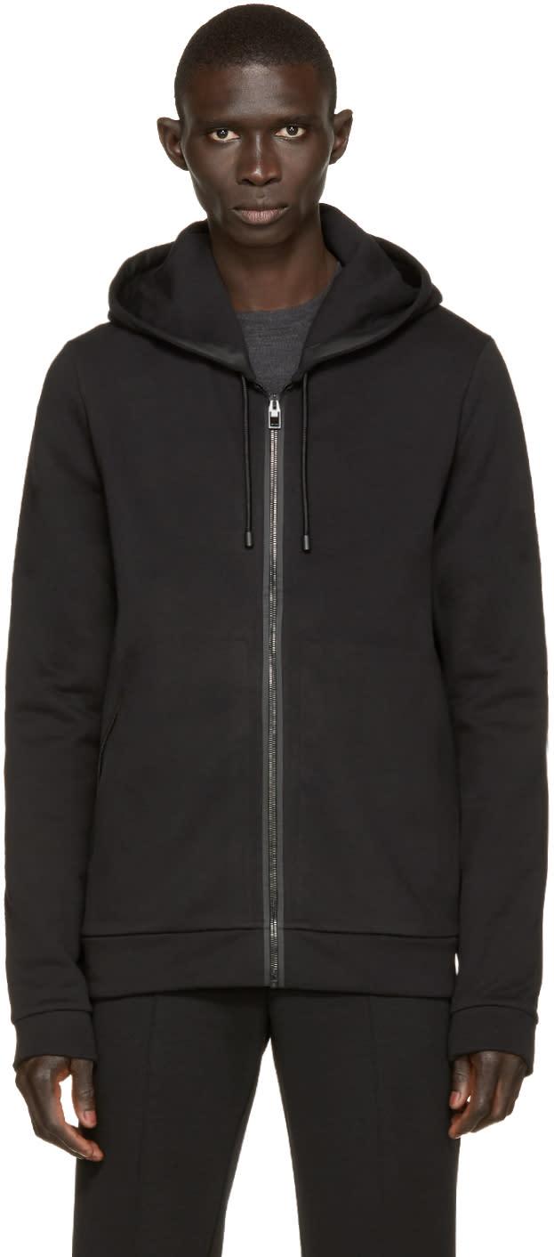 Balenciaga Black Zip-up Hoodie