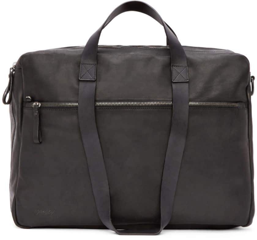 Marsèll Black Leather Briefcase
