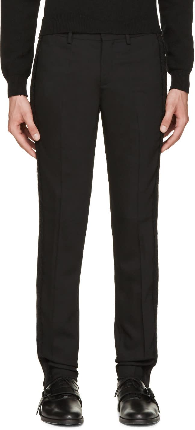 Neil Barrett Black New Skinny Trousers