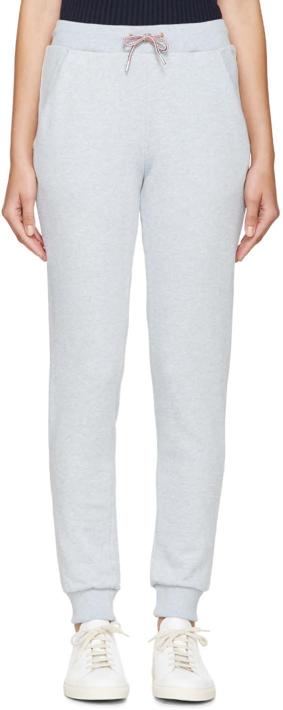 Maison Kitsune Blue Lounge Pants